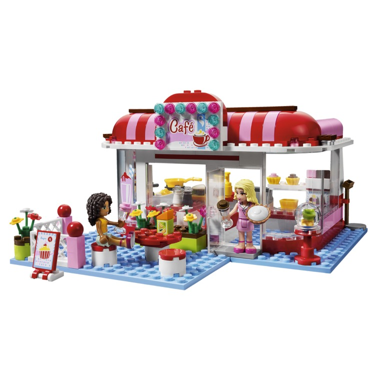 How To Build Lego Friends Cafe